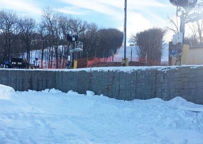 Cascade Mountain Ski Resort Retaining Walls