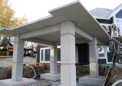 Private Residence – Precast Deck and Foundation