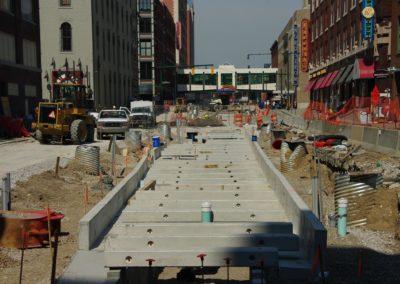 City of Indianapolis Precast Concrete Pedestrian Promenade