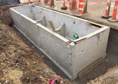 City of Columbus, OH Bio Retention Basin Design