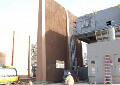 Orange Grove Power Plant Sound Wall