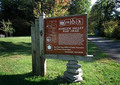 HARLEM VALLEY RAIL TRAIL PRECAST BOARDWALK PLANKS AND ABUTMENTS