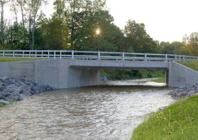 Jennings Creek Road Over Big Brook Bridge